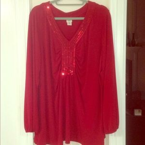 Covington Blouse With Sequins